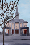 "1 Margaret Walker, Callan Church, Co Kilkenny, Oil Painting, 60cmX92cm • <a style=""font-size:0.8em;"" href=""http://www.flickr.com/photos/41385418@N07/24893922420/"" target=""_blank"">View on Flickr</a>"