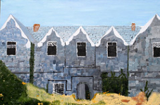 """2 Margaret Walker, Former work house Callan Co Kilkenny, Oil Painting, 92cmX 60cm, March 2015 • <a style=""""font-size:0.8em;"""" href=""""http://www.flickr.com/photos/41385418@N07/25189552515/"""" target=""""_blank"""">View on Flickr</a>"""