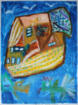 "'' Boat ''56x75 cm November 2015 • <a style=""font-size:0.8em;"" href=""http://www.flickr.com/photos/41385418@N07/24805085409/"" target=""_blank"">View on Flickr</a>"