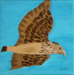 "eagle  acrylic on canvas  2015 • <a style=""font-size:0.8em;"" href=""http://www.flickr.com/photos/41385418@N07/25163393946/"" target=""_blank"">View on Flickr</a>"