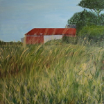 """'' Mary's house & barn '' water based oil 100x100 cm 24-11-2015 • <a style=""""font-size:0.8em;"""" href=""""http://www.flickr.com/photos/41385418@N07/24562762973/"""" target=""""_blank"""">View on Flickr</a>"""