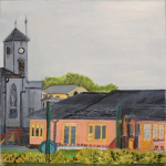 "Eileen Mulrooney Primary school Artisan oil on board  40x40cm 2015 • <a style=""font-size:0.8em;"" href=""http://www.flickr.com/photos/41385418@N07/24821358599/"" target=""_blank"">View on Flickr</a>"
