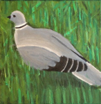 "pigeon acrylic on canvas  2015 • <a style=""font-size:0.8em;"" href=""http://www.flickr.com/photos/41385418@N07/25071544342/"" target=""_blank"">View on Flickr</a>"
