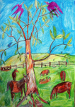 "Andrew Pike - Horses - 2010 - Colour pencils - 59x84cm • <a style=""font-size:0.8em;"" href=""http://www.flickr.com/photos/41385418@N07/7195244446/"" target=""_blank"">View on Flickr</a>"