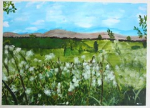 """Margaret Walker - The Flags of Coolagh - Acrylic on paper - 76x57cm • <a style=""""font-size:0.8em;"""" href=""""http://www.flickr.com/photos/41385418@N07/7202139674/"""" target=""""_blank"""">View on Flickr</a>"""