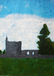 "Margaret Walker - Old church Coolagh - 2010 - Acrylic • <a style=""font-size:0.8em;"" href=""http://www.flickr.com/photos/41385418@N07/7202129488/"" target=""_blank"">View on Flickr</a>"