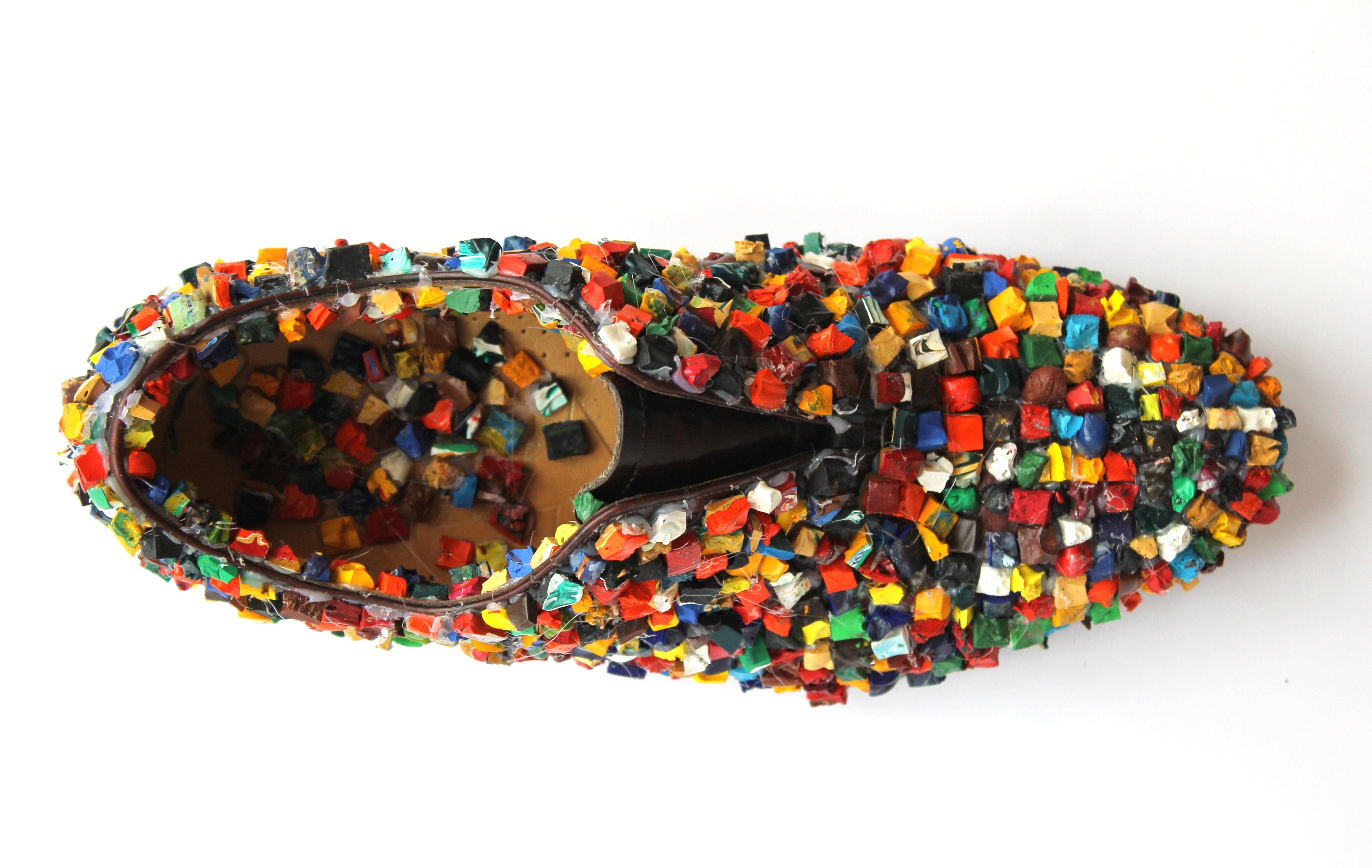 Encrusted Shoe, Declan Byrne